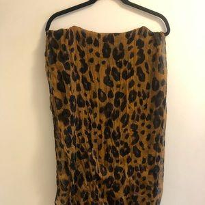 Nasty Gal Leopard Scarf